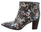 Laurence Dacade Leather Floral Ankle Boots