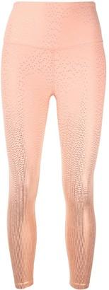 Beyond Yoga Drip Dot high-waisted leggings
