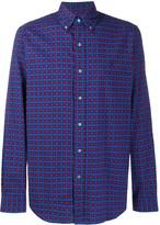 Polo Ralph Lauren long sleeved checked pattern shirt