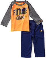 Under Armour Baby Boys 12-24 Months Future Pro Raglan Tee & Solid Pant Set