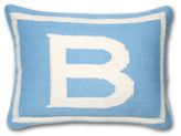 Jonathan Adler Blue Junior Letter Pillow