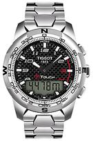 Tissot T0474204420700 T-touch Ii Titanium Bracelet Strap Watch, Silver