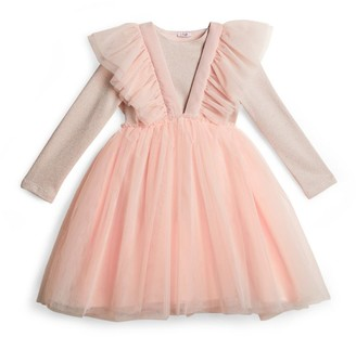 Il Gufo Tulle Pinafore Dress (3-12 Years)
