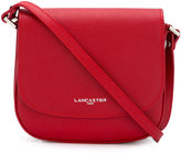 Lancaster textured shoulder bag - women - Calf Leather - One Size