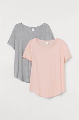 H&M H&M+ 2-pack T-shirts - Pink