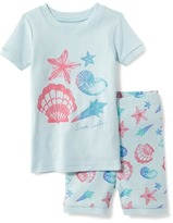 Old Navy 2-Piece Sea-Shell-Print Sleep Set for Toddler & Baby