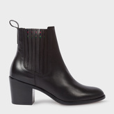 Paul Smith Women's Black Calf Leather 'Shelby' Boots
