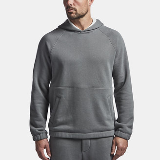 James Perse Cotton Terry Seamed Hoodie