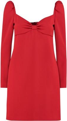 RED Valentino Crepe Mini Dress