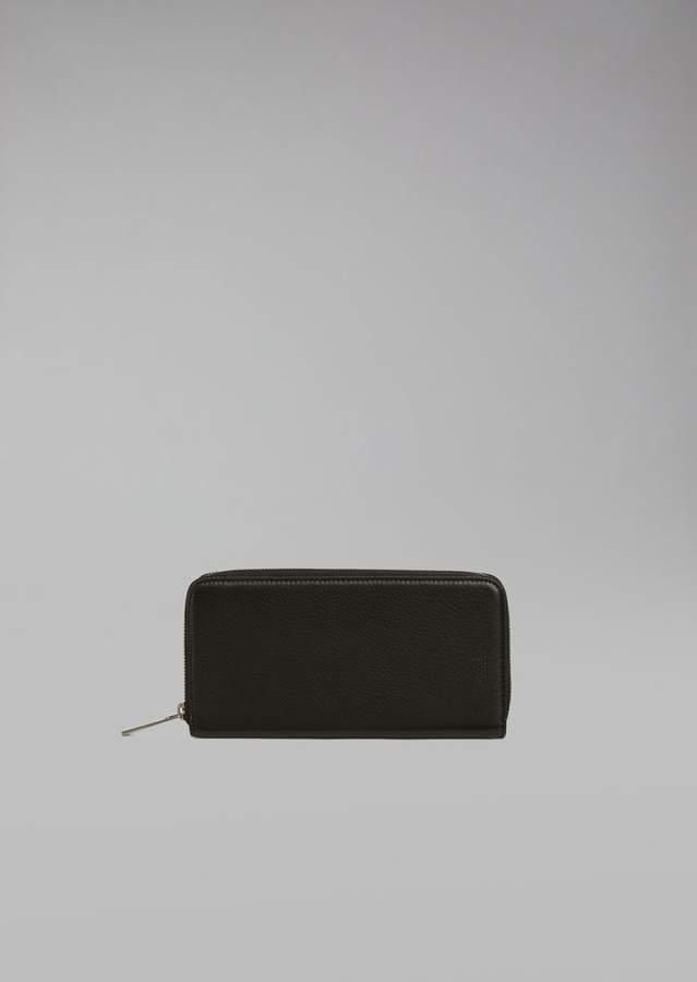 Giorgio Armani Horizontal Deerskin Wallet