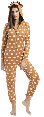 Unknown Body Candy Junior's Microfleece Onesie with Critter Hood