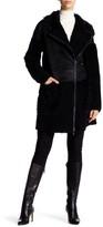 ZAC Zac Posen Lilian Long Length Genuine Shearling & Genuine Lamb Fur Coat