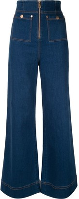 Alice McCall Bluesy wide-leg jeans