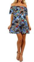 24/7 Comfort Apparel Summertime Sophistication Shift Dress