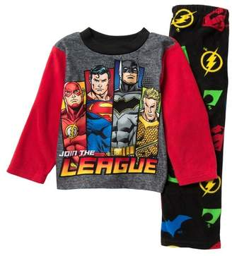 AME Justice League Pajama Set (Little Boys & Big Boys)