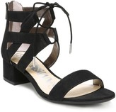 Sam & Libby Women's Irma Ghillie Low Heel Pump Sandals