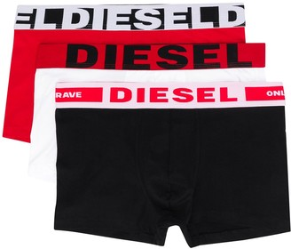 Diesel Three-Pack Of Boxer Briefs
