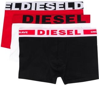 Diesel Three-Pack Of Boxer Briefs