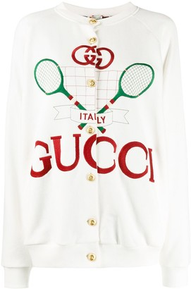 Gucci reversible Tennis jacket