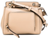 Donna Karan Saffiano mini satchel - women - Calf Leather - One Size