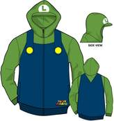 Nintendo Luigi Youth Costume Zip Hoodie - Youth