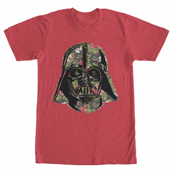 Thumbnail for your product : Star Wars Men's Vader Tropical Floral Print T-Shirt