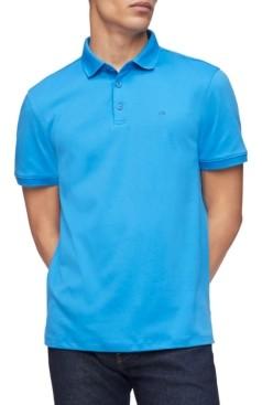 Calvin Klein Men's Liquid Touch Solid Polo Shirt