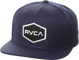 RVCA Commonwealth Snapback Cap Blue