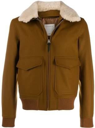 Sandro Paris Aviator jacket