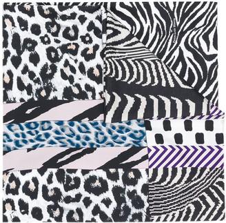 Pierre Louis Mascia Animal-Print Silk Scarf