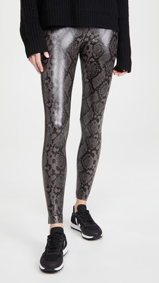 Commando Faux Leather Animal Leggings