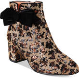 Kate Spade Leopard Print Langley Bow Booties