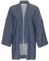 Gold Hawk Denim Kimono