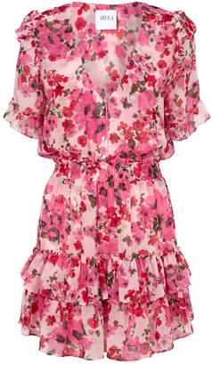 MISA Los Angeles Devan Floral Mini Dress