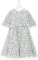 Dolce & Gabbana polka dot dress - kids - Silk/Viscose - 6 yrs