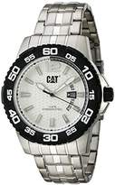 CAT WATCHES Men's 'PW Drive' Quartz Stainless Steel Casual Watch, Color:Silver-Toned (Model: PW.141.11.222)