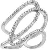 Brilliance+ Brilliance Openwork Ring with Swarovski Crystals