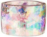 Chanel Iridescent Foil Cuff