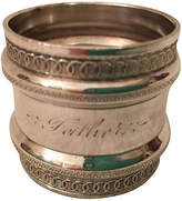 One Kings Lane Vintage Antique Silver Plate Napkin Ring