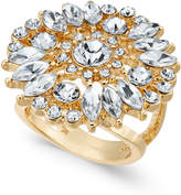 Thalia Sodi Gold-Tone Crystal Statement Ring, Created for Macy's