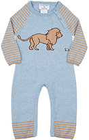 Lucky Jade Lion & Mouse Cotton-Cashmere Coverall
