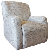 Sure Fit Statement Prints Signature Recliner Cover