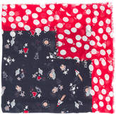 Emporio Armani space print scarf