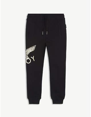 Boy London Eagle logo cotton jogging bottoms 3-16 years