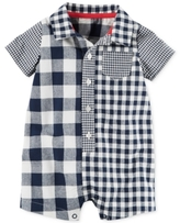 Carter's Gingham Check-Print Romper, Baby Boys (0-24 months)