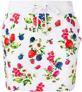 Love Moschino floral skirt - women - Cotton/Spandex/Elastane - 38