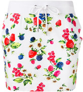 Love Moschino floral skirt - women - Cotton/Spandex/Elastane - 44