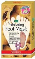 Purederm Exfoliating Foot Mask - Peels Away Calluses and Dead Skin in 2 Weeks! (3 Pack (3 Treatments), Regular)