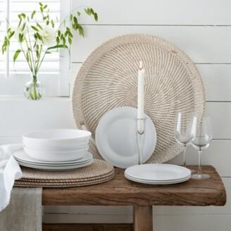 The White Company Symons Bone China - 12 Piece Set, White, One Size
