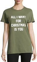 Adolescent Clothing All I Want for Christmas Tee
